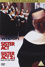 Whoopi Goldberg, Maggie Smith-Sister Act/Sister Act 2 - Bac (UK IMPORT)  DVD NEW