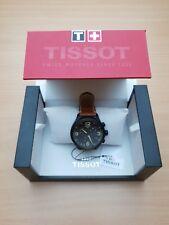 Tissot Chrono XL Bracelet Cuir Hommes cadeaux montre  T1166173605700 NEUF