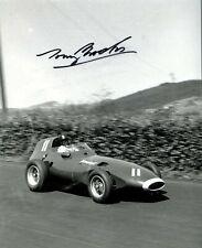 Tony Brooks Vanwall German Grand Prix 1957 Signed Photograph 3