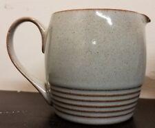 """Denby DOVEDALE Creamer, 10 oz / 3 3/8"""", Stoneware, Bluish Gray / Beige"""