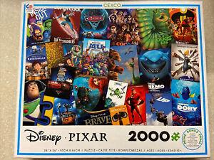 🟢 2000 Pieces Jigsaw Puzzle Disney/Pixar Movie Puzzle Sealed