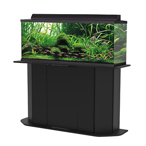NEW Deluxe 55 Gallon Aquarium Stand Storage Cabinet Fish Tank Holder Wood Doors