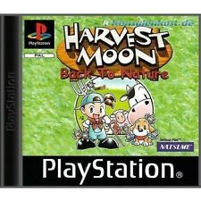 PS1 / Sony Playstation 1 Spiel - Harvest Moon Spiel - Back to Nature mit OVP