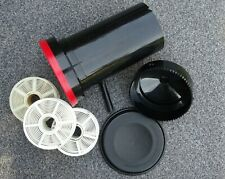 Paterson PTP116 Super System 4 Film Developing Tank with 3 Reels - Nice!