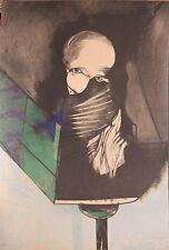 Gianni Dova serigrafia cm.68x93