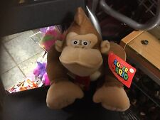 "NINTENDO SUPER MARIO DONKEY KONG 10"" SOFT TOY PLUSH GIFT QUALITY NEW TAGS"