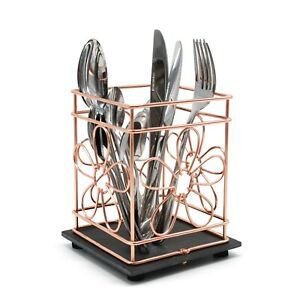 Wire Slate Decorative Utensil Storage Holder Display Basket ChampagneWine Holder