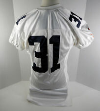 Virginia Cavaliers  #31 Game Used  White Jersey  UVA00076
