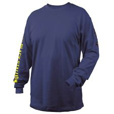 Revco Black Stallion Navy 7oz Fr Knit Welding Shirt Medium Tf2510 Nv