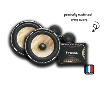 Focal PS165FX PS 165fx Flax Cone 6.5 Car Audio Speaker 2-way Component Kit