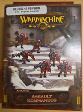 Warmachine - Khador - Assault Kommandos PIP 33100