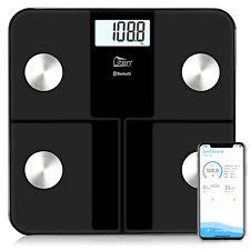 Uten Smart Digital Bathroom Weight Fat Scale Body BMI Mobile Fitbit Bluetooth US