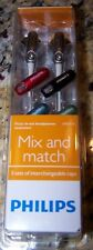Philips Mix & Match In-Ear Headphones SHE2610 ~ NIB