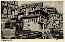 Strassburg duta ALSAZIA ALSACE ~ 1940 CARTE POSTALE CASE il pflanzbad