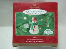 2000 Hallmark Max The Snowmen of Mitford