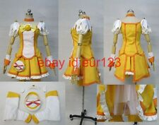 Smile PreCure! Yayoi Kise Cure Peace Cosplay Costume Custom Any Size