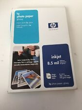"""NOS Sealed HP Photo Paper, Glossy (C7890A, 4""""x6"""", 20 Sheets)"""