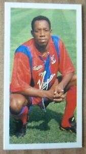 CRYSTAL PALACE IAN WRIGHT ROOKIE BARRATT FOOTBALL CARD 1992