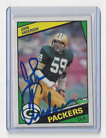 1984 PACKERS John Anderson signed card Topps #264 AUTOGRAPHED AUTO Green Bay