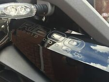 ALL BLACK LC BEAK STICKER TO FIT >2013 BMW R1200GS ADVENTURE LIQUID TRIPLE BLACK