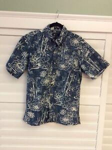 Reyn Spooner Hawaii Year Of The Rat Aloha Shirt S