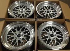 """19"""" ESR SR01 Wheels 19x9.5/19x10.5 +22 5x114.3 For 350Z 370Z G35 Cp. Rims Set 4"""