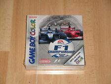F1 CHAMPIONSHIP SEASON 2000 PARA LA NINTENDO GAME BOY COLOR NUEVO PRECINTADO