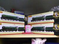 Hornby R3500 Sir Nigel Gresley Ltd edition set of 4 OO Locomotives Brand New