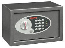 Phoenix SS0801E Compact Einbruchschutz-Tresor Safe, grau