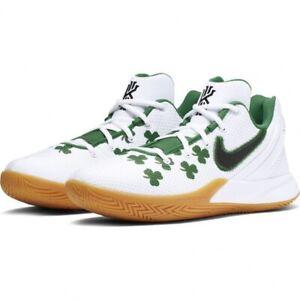 NEW Nike Kyrie Flytrap II 2 ☘️ Boston Celtics Size 7 (AO4436 100) White Green