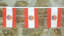 French Polynesia Flag Polyester Bunting - Various Lengths