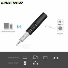 Universal 3.5mm jack Bluetooth Car Kit Hands free Music Audio Receiver Adapter A