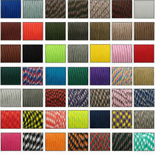550 Paracord Parachute Cord Lanyard Mil Spec Type III 7 Strand Core 33 50 100  A
