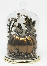 Bath & Body Works Wallflower Diffuser Plug In Unit Autumn Cloche Pumpkin Light