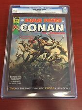 SAVAGE SWORD OF CONAN #1 CGC 9.6 NM+ 2nd Highest Graded Boris Vallejo Cover 4/74