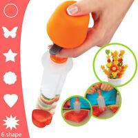 7Pcs Vegetable Fruit Rice Cutter Mold Shape Flowers Slicer Food Kitchen Tool Set