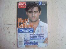 Matt LeBlanc rare cover magazine TROS KOMPAS