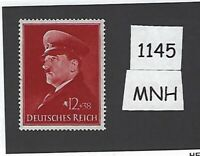 Adolph Hitler Mint stamp / MNH 52nd birthday / 1941 Third Reich / WWII Germany