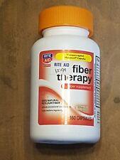 Fiber Therapy by Rite Aid-160 Capsules - 100% Psyllium Fiber-Exp 11/18