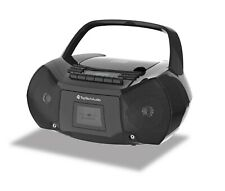TOPTECH AUDIO Portable Boombox CD/Cassette  AM/FM Radio Player