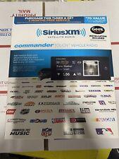 SiriusXm Sxvct1 Commander Touch Satellite Radio Receiver - Black
