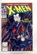 X-Men #239 VF- Silvestri Green Mr Sinister Goblin Queen (Madelyne Pryor) Inferno