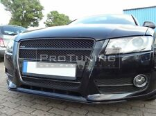 For Audi A5 8T 07-11 Sportback Coupe Front bumper spoiler V look addon chin