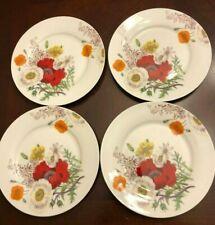 Bone China Grace Salad / Dessert Plates- Set of 4  _7.5 inches _ New