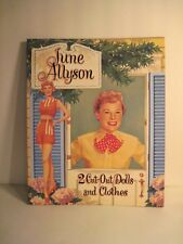 June Allyson Paper Dolls