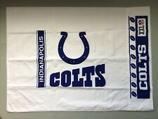 NFL Indianapolis Colts, Micro Fiber Pillowcase, Standard Size - NEW