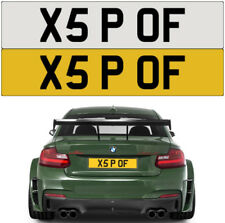 X5 P*** OFF RUDE CHEEKY BMW NAUGHTY BAD  PRIVATE NUMBER PLATE REGISTRATION