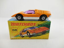 Matchbox Superfast 66 Mazda RX 500 Orange White Base Mint in I Box MIB