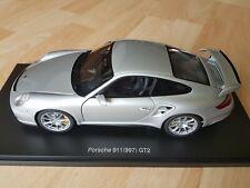1:18 AUTOART PORSCHE 911 997 GT2 SILVER