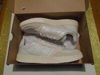 NIB Adidas Originals Supercourt Men's Leather Shoes White Several Sizes EE6024